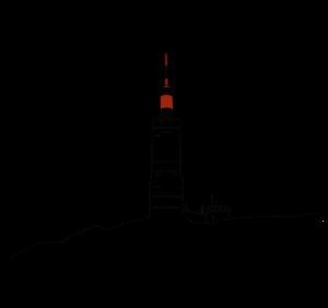 Logo Meteo 84 v1 blanc et rouge